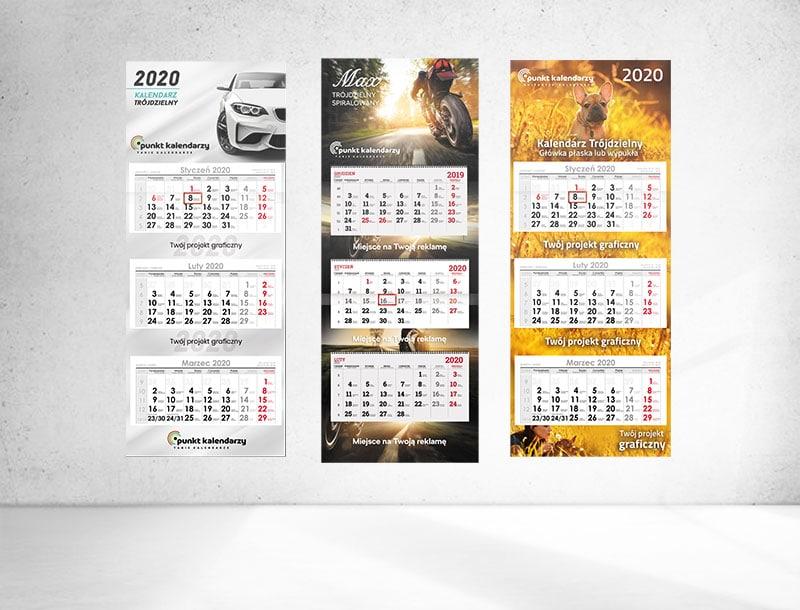 Kalendarze reklamowe dla firm
