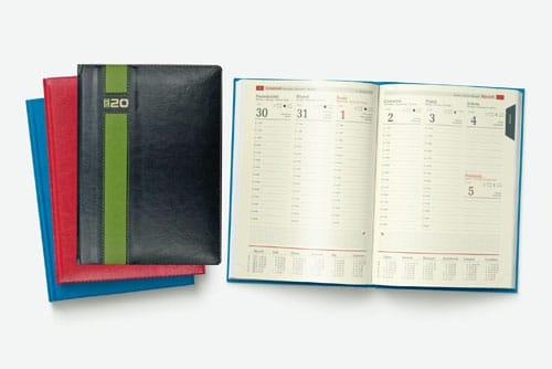Tanie kalendarze książkowe